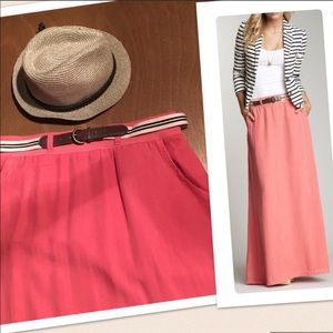 EUC Splendid maxi skirt